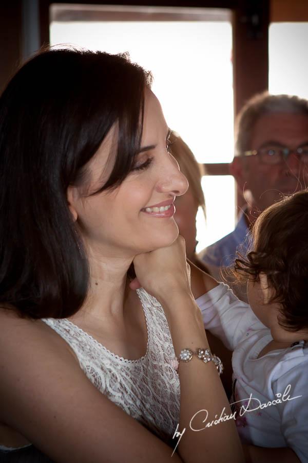 Phoebe - Christening Photo Session in Cyprus - Photographer: Cristian Dascalu