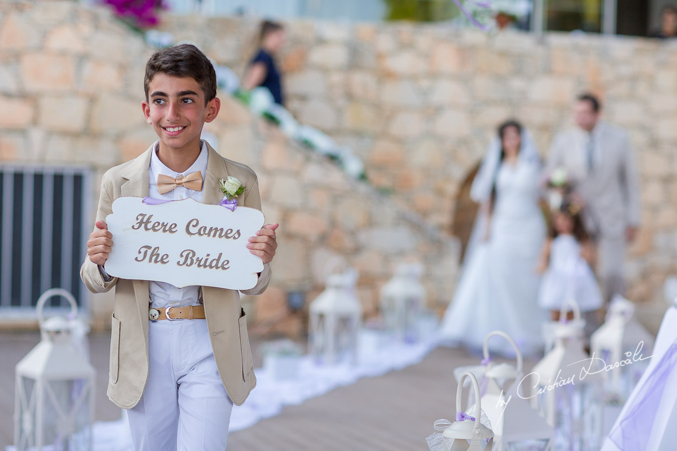Unique wedding moments captured at Royal Apollonia Hotel in Limassol, Cyprus