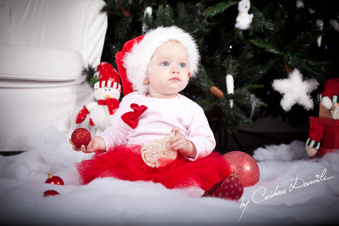 Emma Andreea - Christmas Photo Session. Photographer: Cristian Dascalu