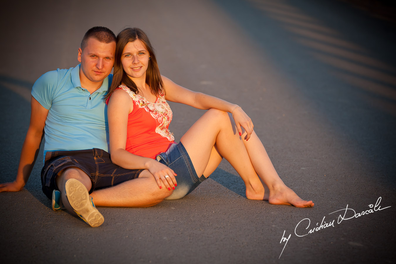 Iulian & Anca - Couple Photo Session. Cyprus Professional Photographer: Cristian Dascalu