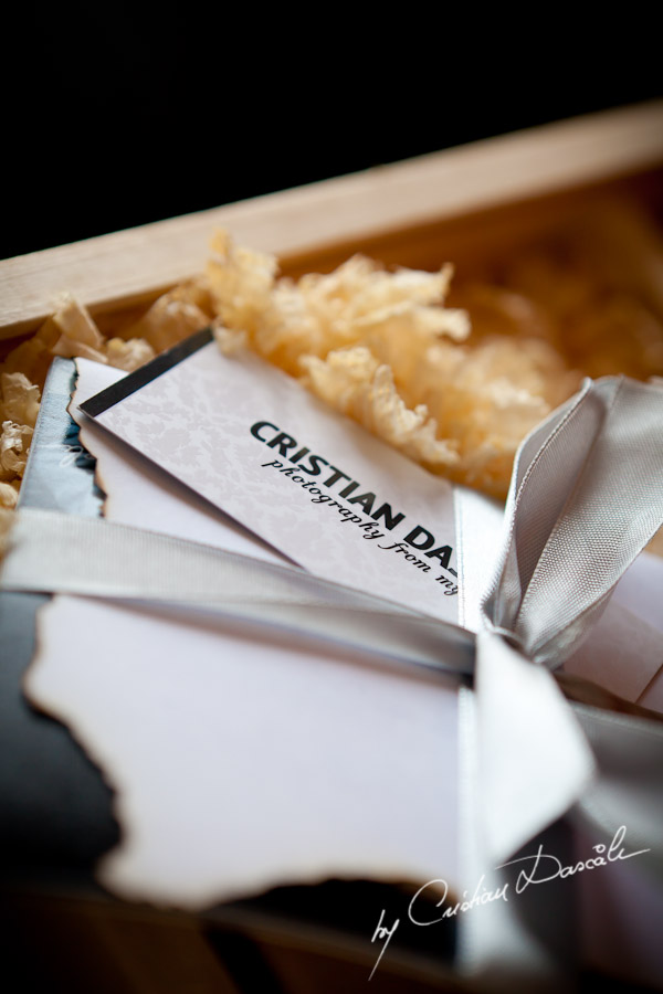 Cyprus Photographer Cristian Dascalu - Our custom packaging