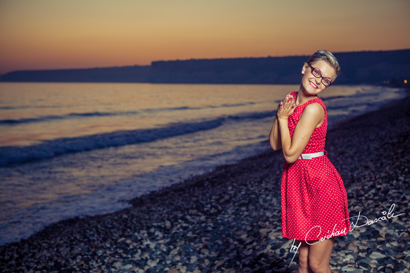 Beach photo shoot in Cyprus - Maria, Moods. Cyprus Photographer: Cristian Dascalu