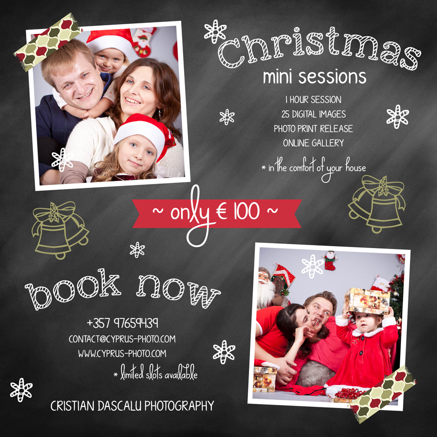 Christmas2013 Photo Sessions - Book yours now!