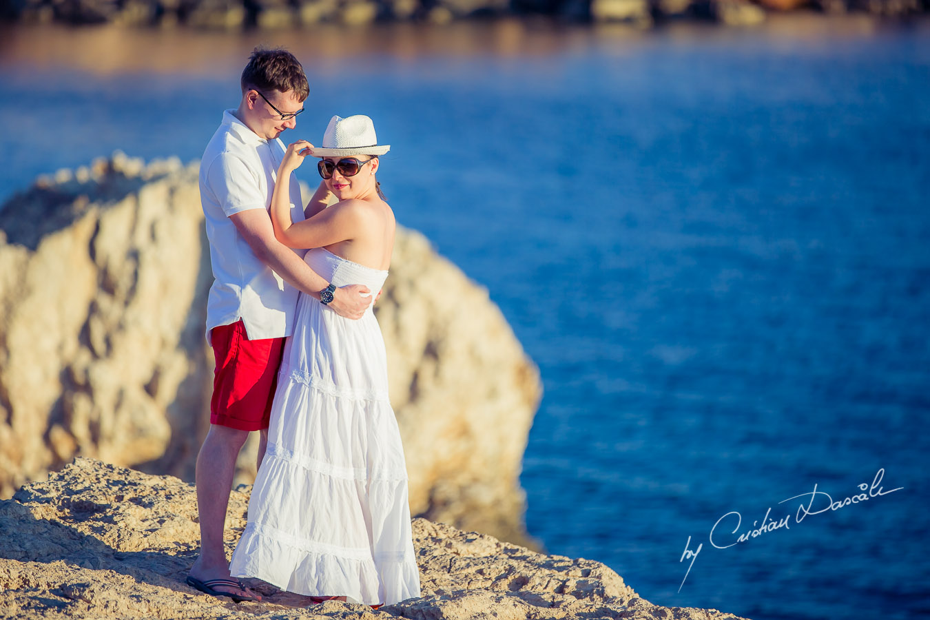 Photo Shoot in Cyprus - Anna & Konstantin in Protras, Cyprus