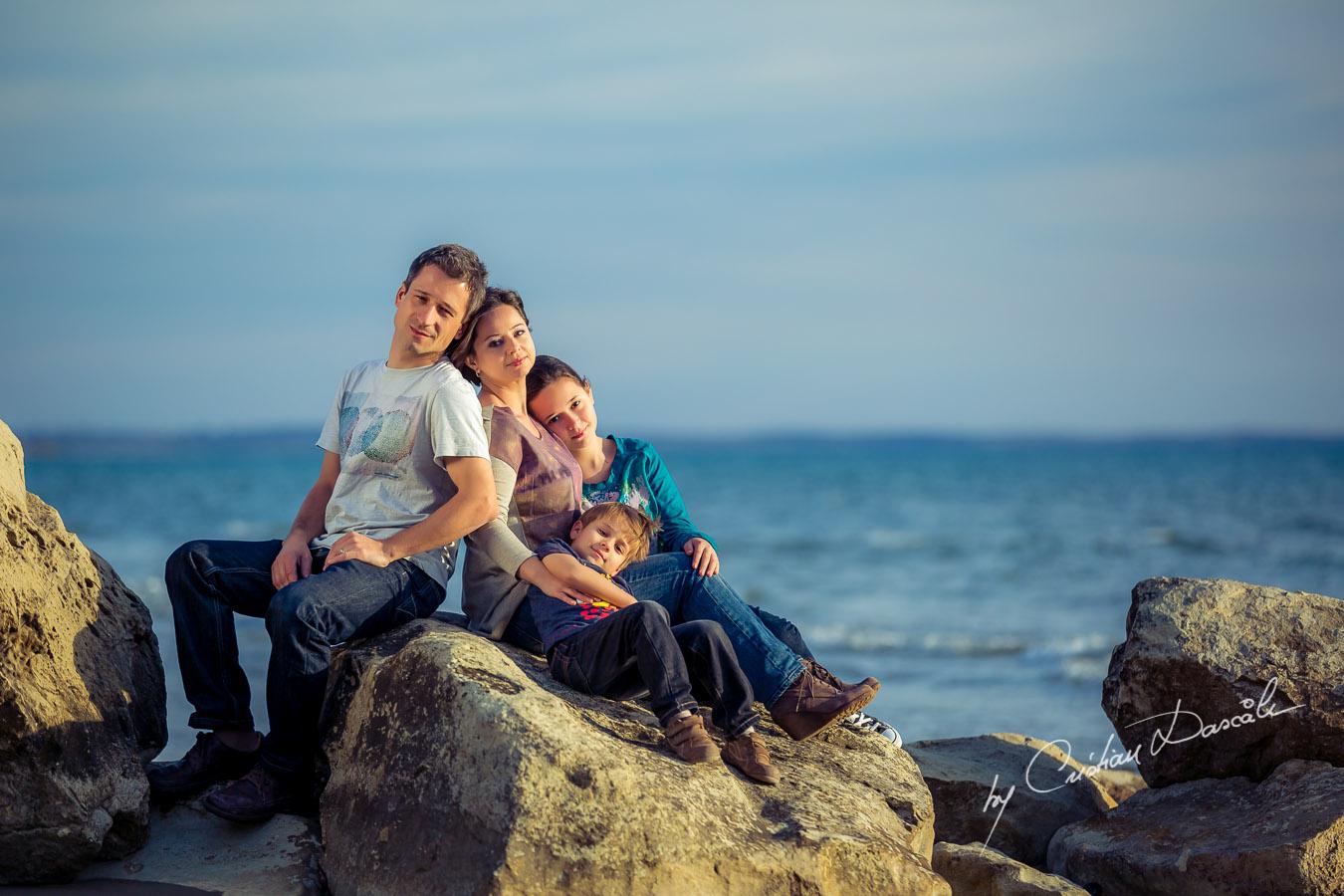 Photo shoot in Cyprus, Curium Beach. Photographer: Cristian Dascalu