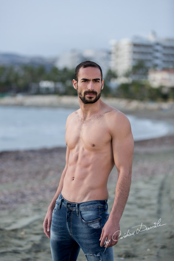 Model Photo-shoot at Saint Raphael Beach - 09