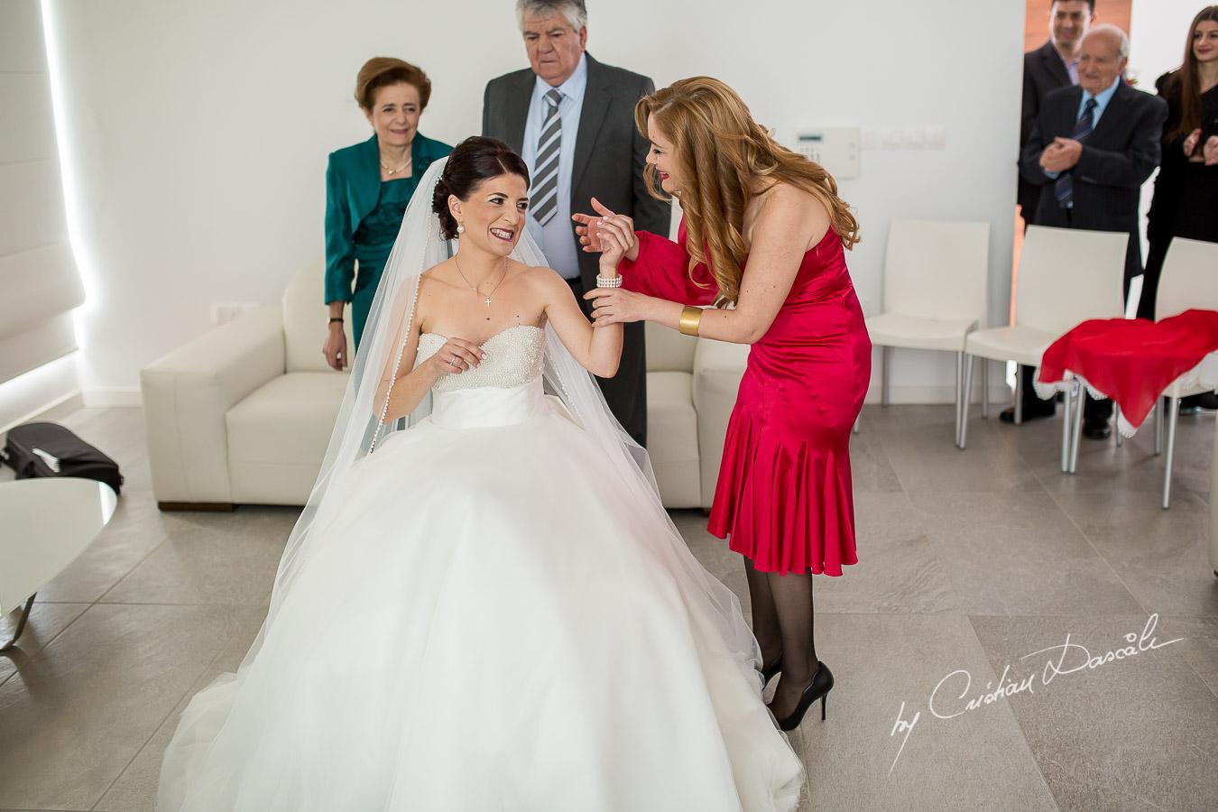 Wedding of Costas & Maria - Nicosia, Agios Dometios 12