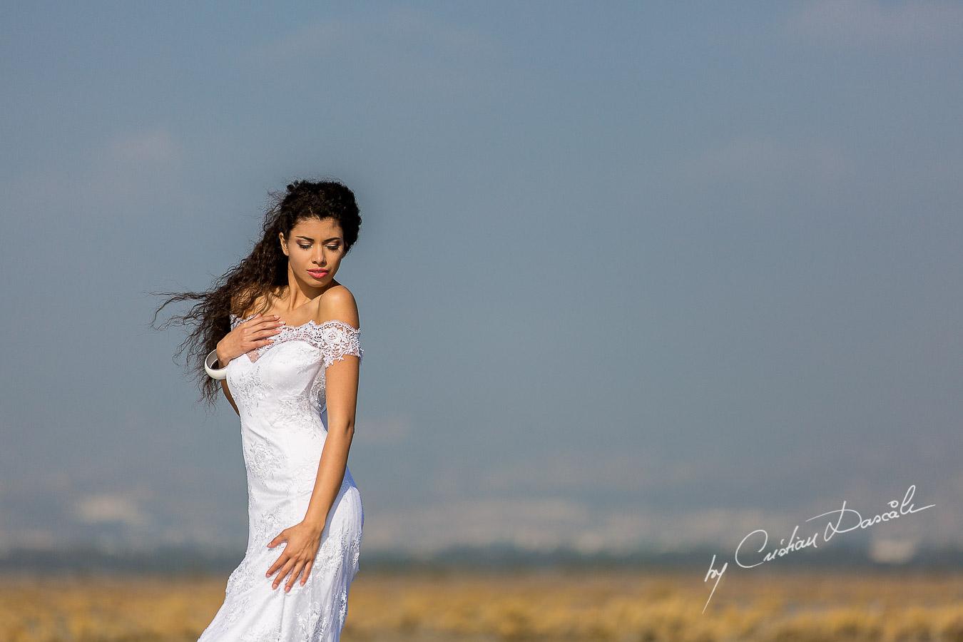 Wedding Editorial in Akrotiri Wedding Designer Litous Model Alice - 01