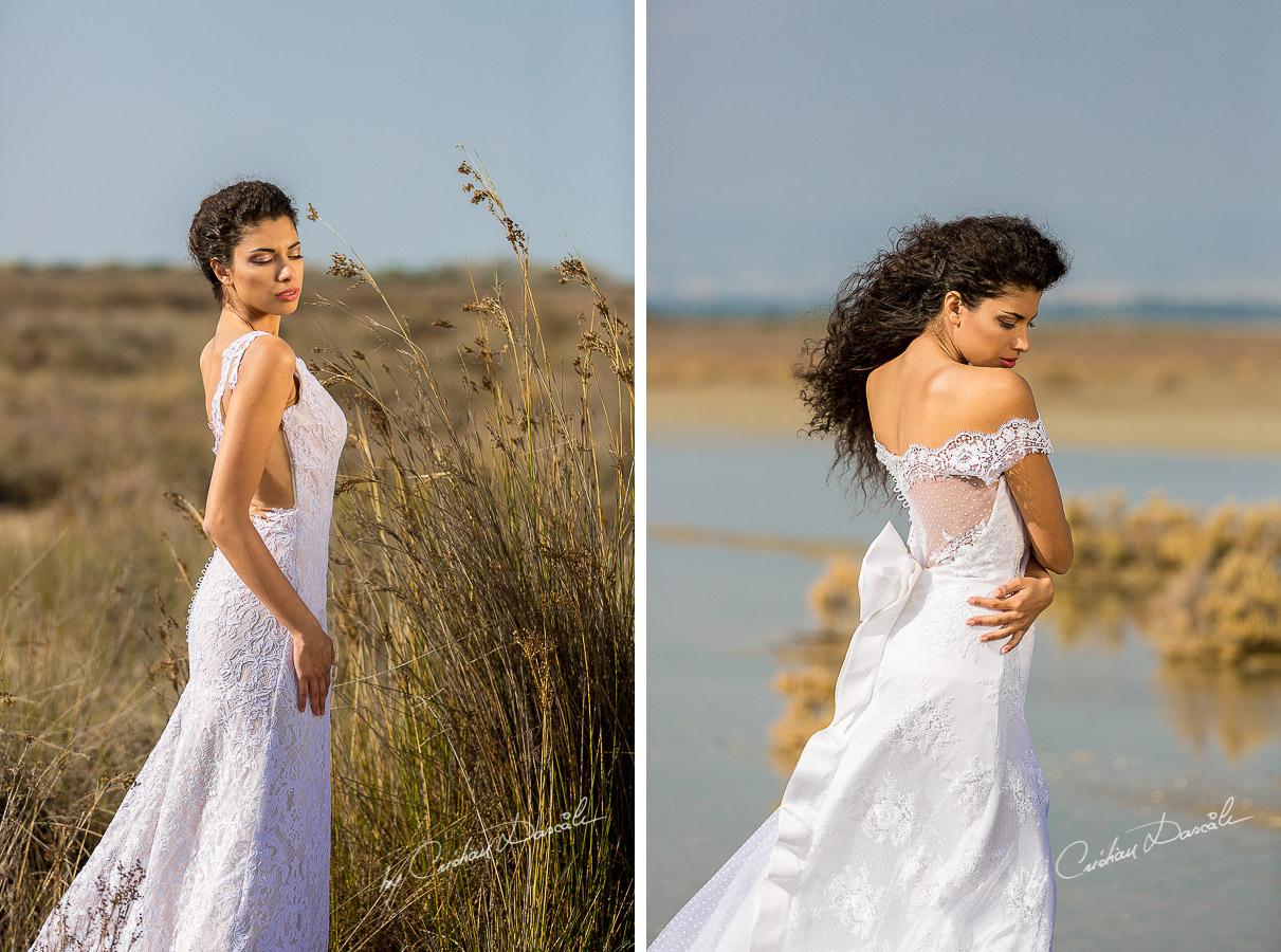 Wedding Editorial in Akrotiri Wedding Designer Litous Model Alice - 06