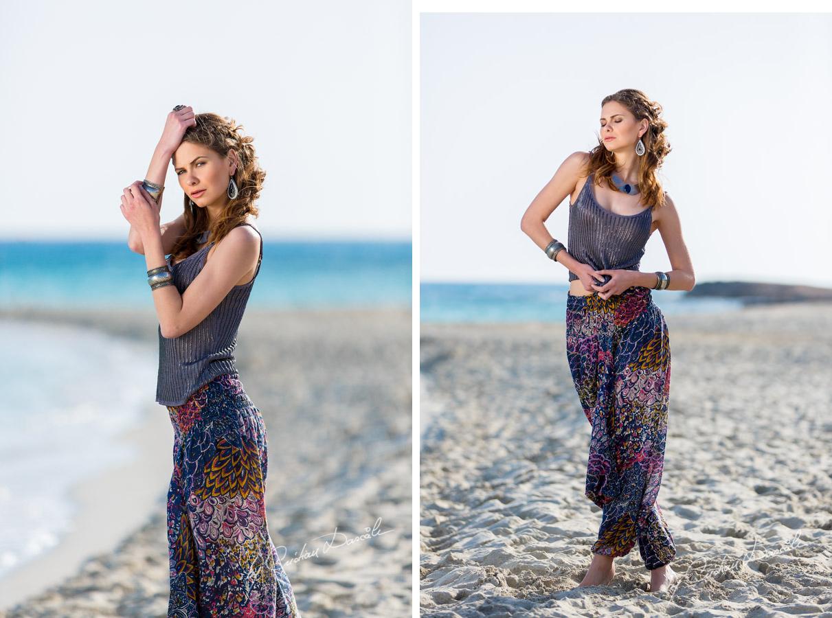 Bohemian Style with Anastasia at Nissi Beach