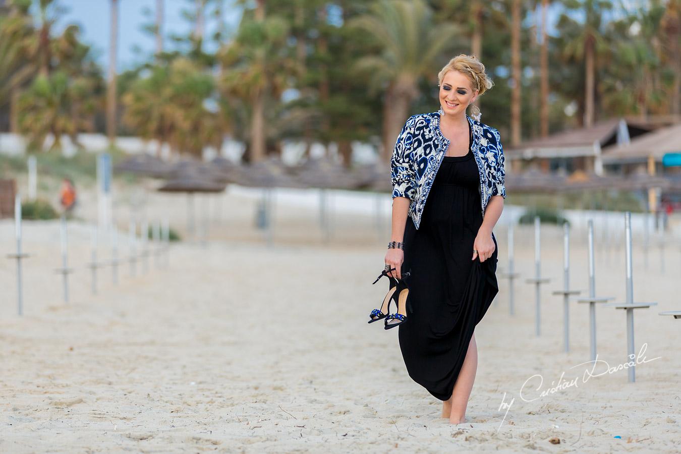Katarzyna Posing in Agya Napa, Nissi Beach