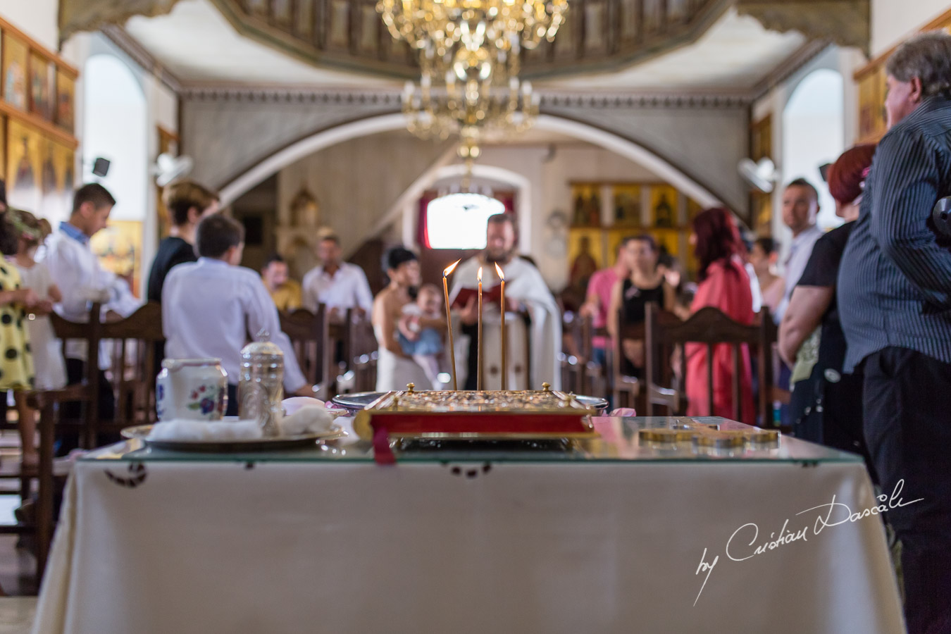 Heartwarming Christening in Limassol - Baby Melina Maria 15