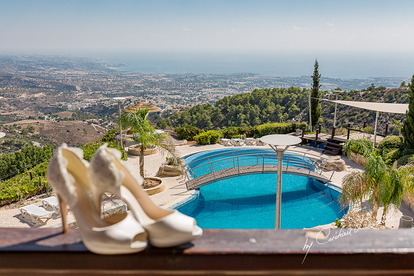 Wedding details captured by Cristian Dascalu at the Luxurious Paphos Wedding Villa in Cyprus.