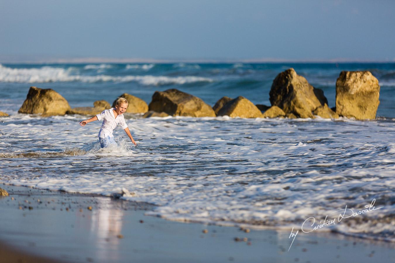 Family Photography at Kurion Beach - 15