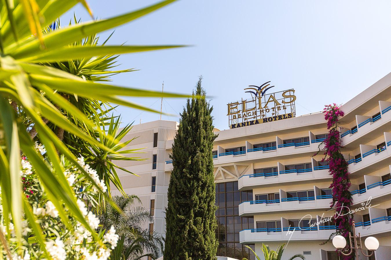 Elias Beach Hotel Limassol - Entrance View