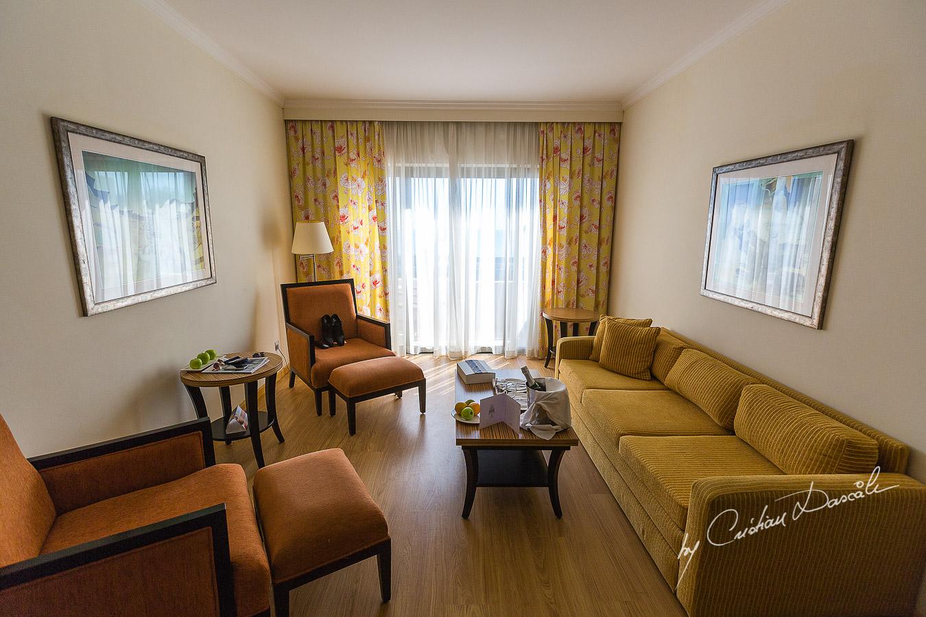 Groom's room at Elias Beach Hotel in Limassol