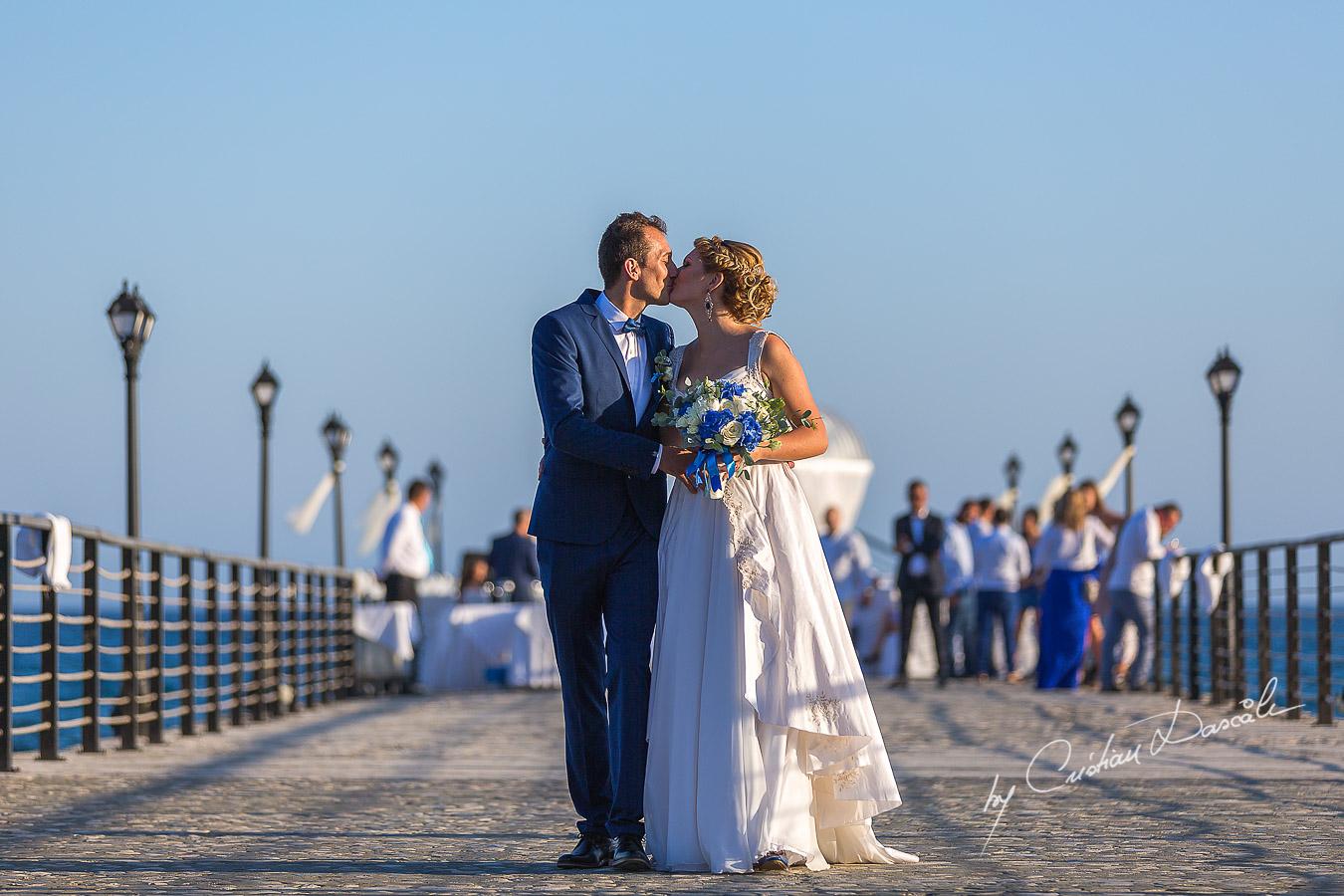 Wedding Photography at Elias Beach Hotel in Limassol by Cristian Dascalu