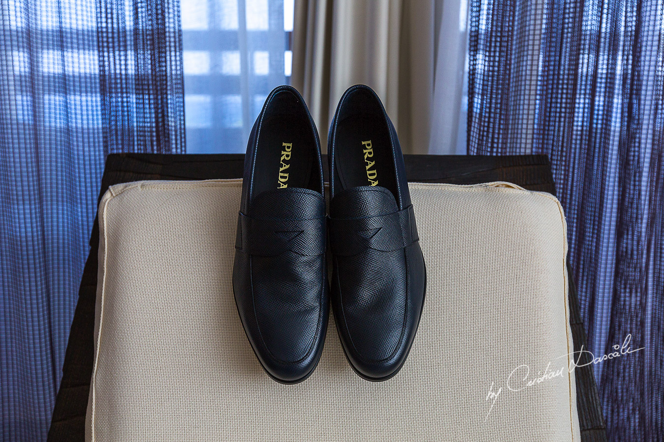Groom`s shoes photographed at Londa Hotel in Limassol, Cyprus.