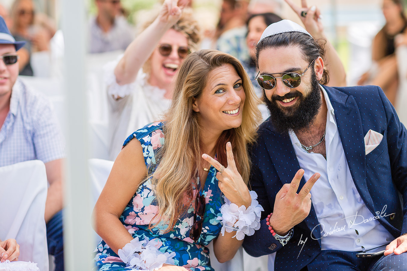 Moments before a Jewish Wedding Ceremony in Cyprus.