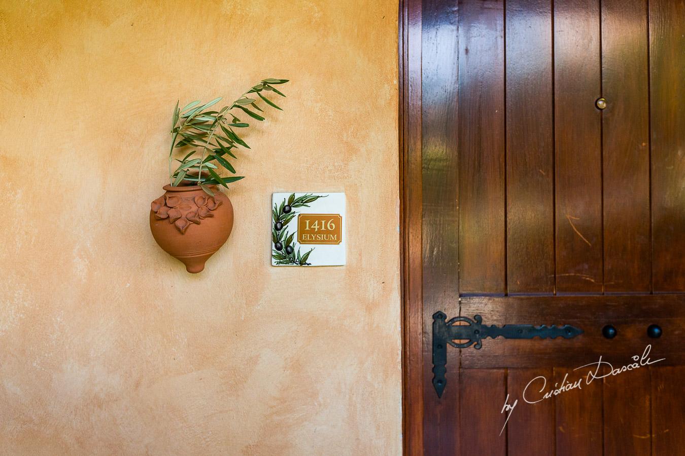 Groom's Room at the Elysium Hotel in Paphos.