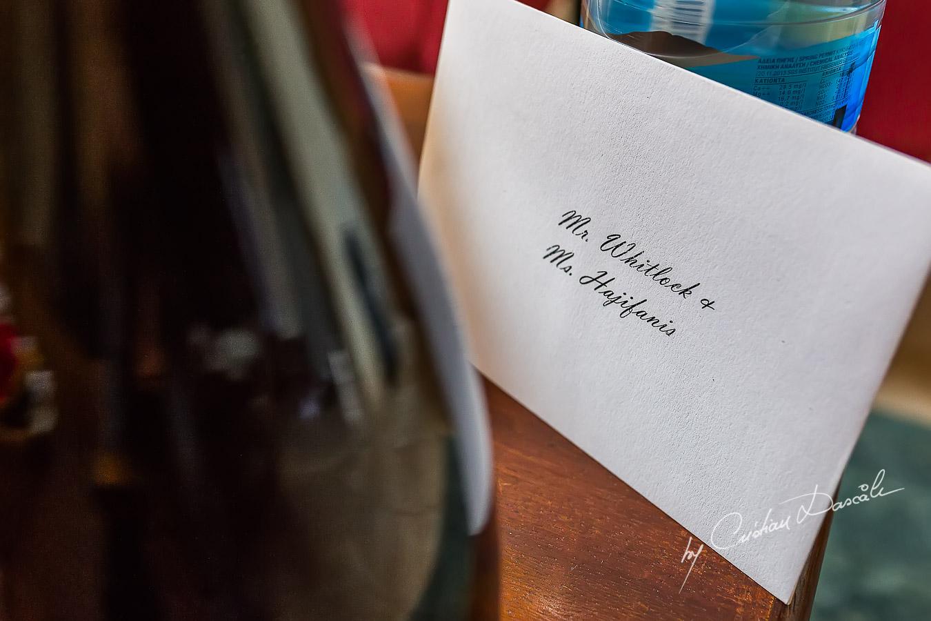Wedding Details captured at Elysium Hotel in Paphos, Cyprus.