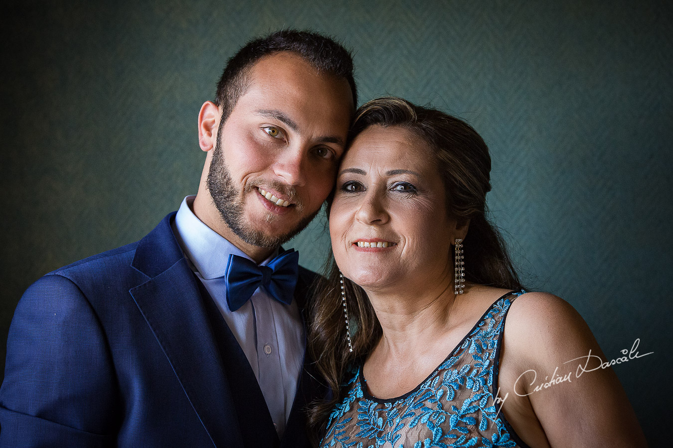 Genuine moments with the groom and his mother, as part of an Exclusive Wedding photography at Grand Resort Limassol, captured by Cyprus Wedding Photographer Cristian Dascalu.