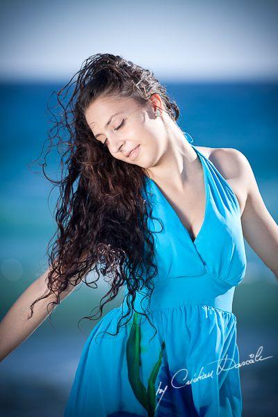 Andreea-Madalina - Cyprus Beach Photo Session. Photographer Cristian Dascalu