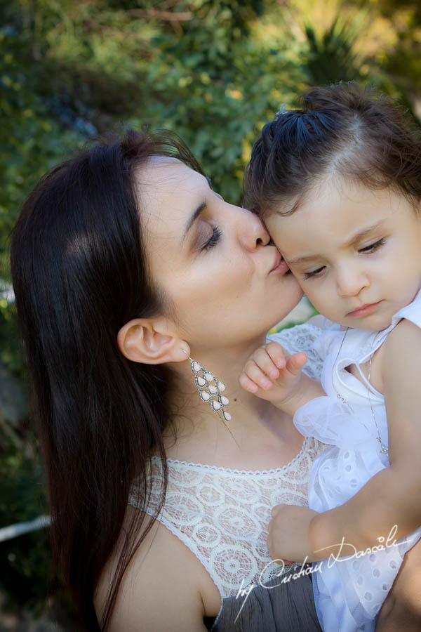 Phoebe - Christening Photo Session in Cyprus - Photographer: Cristian Dascalu