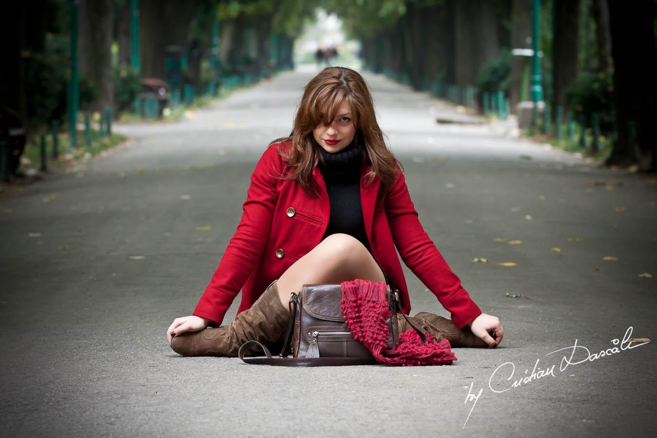 Roxana Iovu - By Photographer Cristian Dascalu - Cismigiu 2011