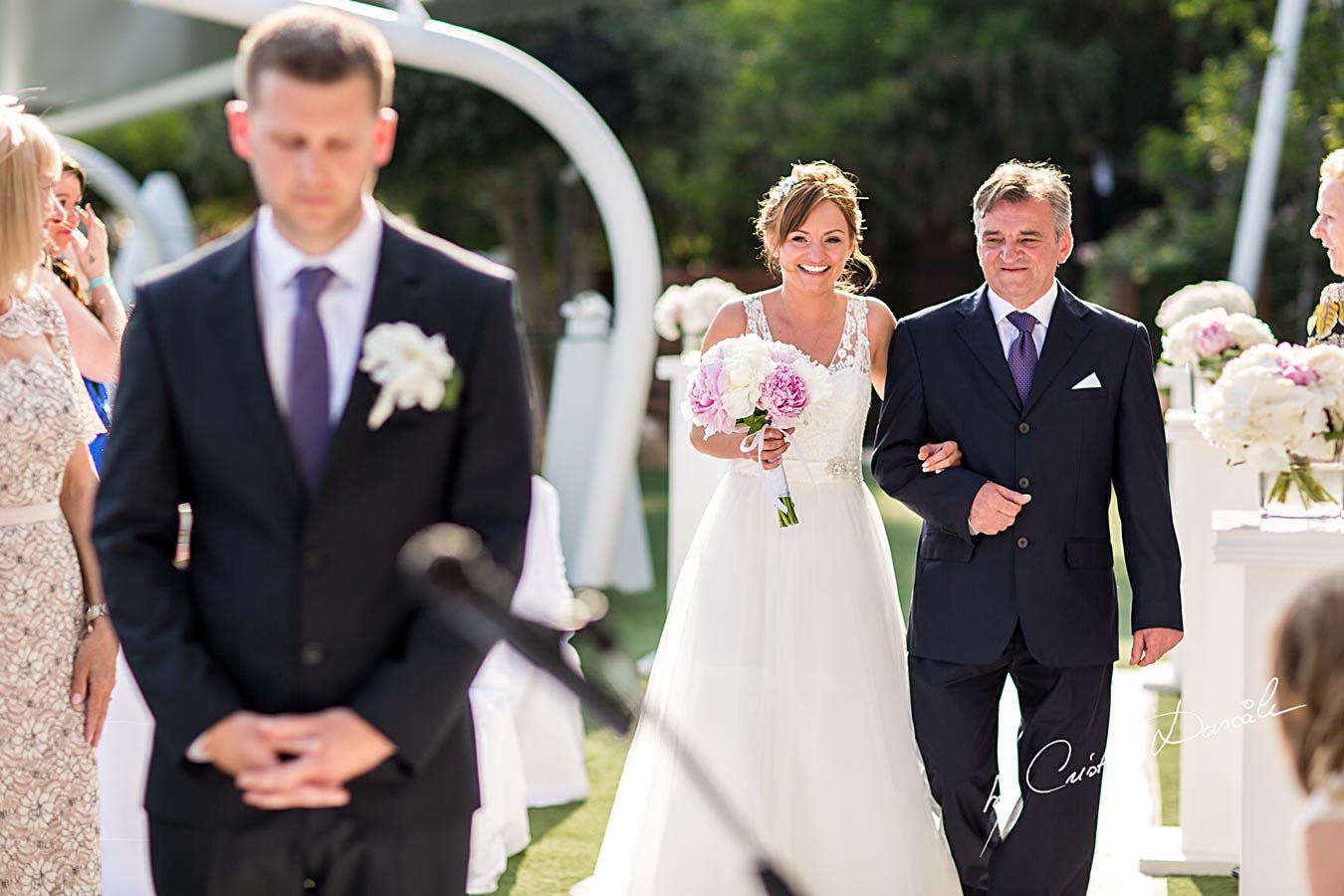 Wedding at Grecian Park Hotel in Protaras, Cyprus. Photographer: Cristian Dascalu