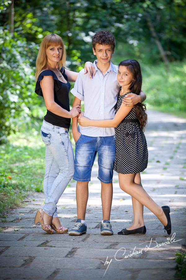 Lena & Kids - Family Photo Session - By Cristian Dascalu