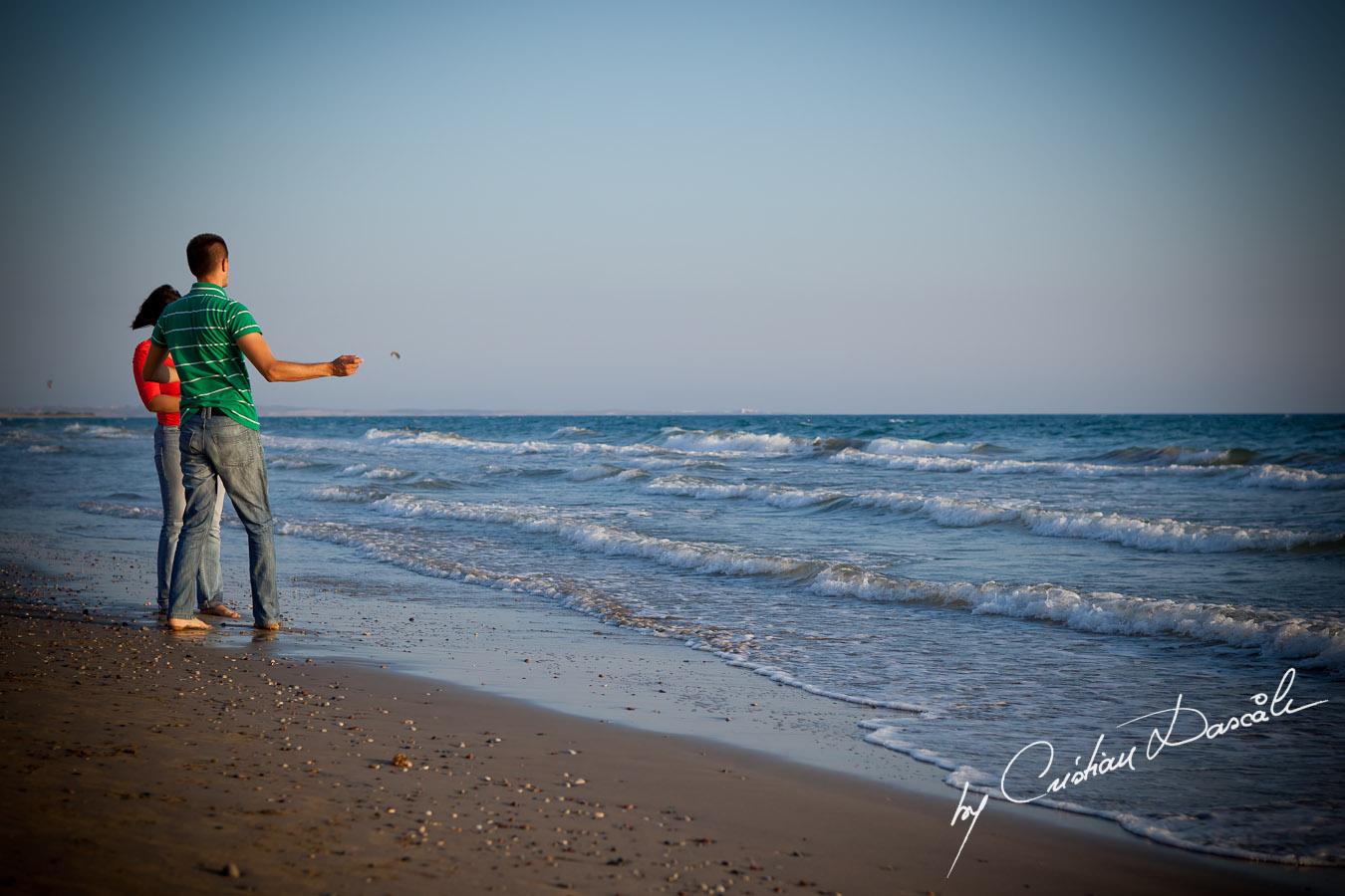 Maia & The Mediterranean Sea. Cyprus Professional Photographer: Cristian Dascalu
