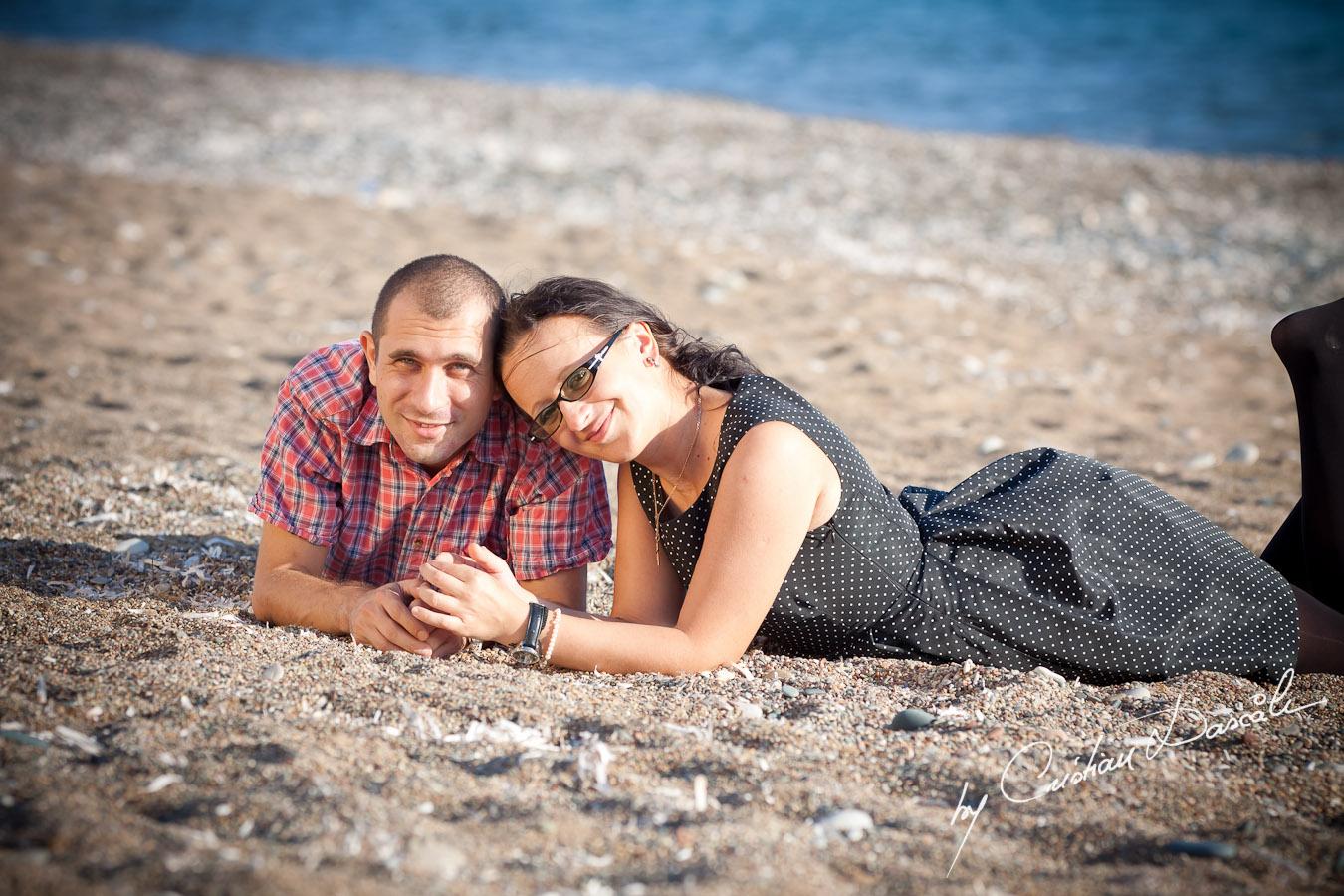 Tudor and Alina - Paramali Beach. Cyprus Photographer: Cristian Dascalu