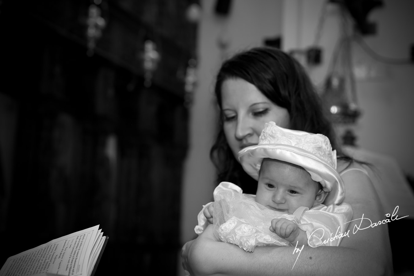 Diana's Christening - Cyprus Christening Photography. Photographer: Cristian Dascalu