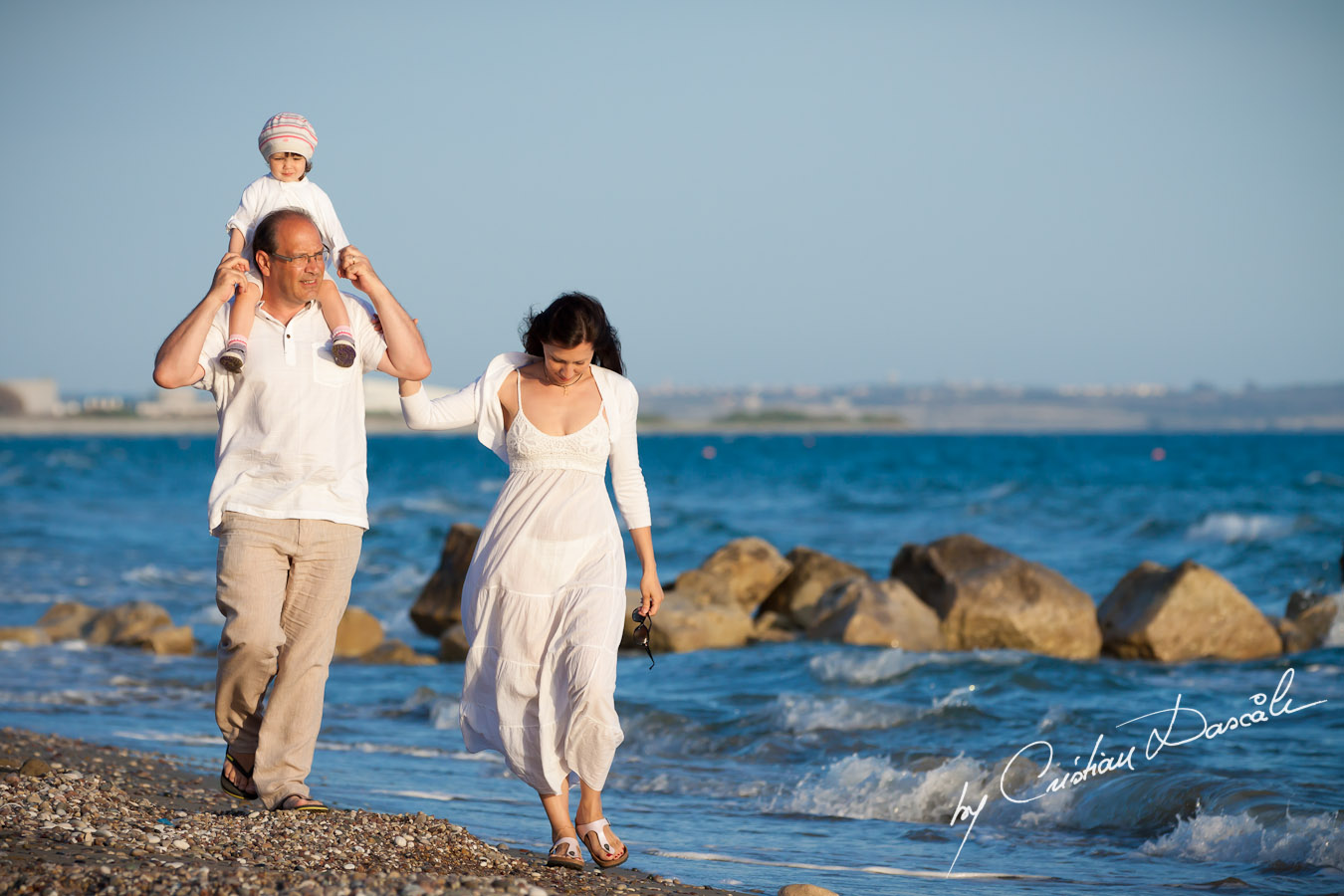 Laurent & Family - Beach Photo Shoot by Cyprus Wedding Photographer - Cristian Dascalu