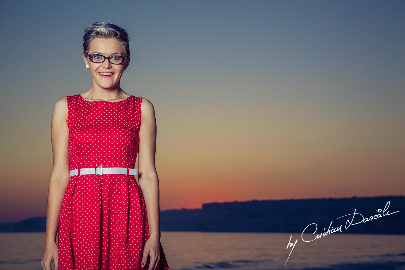 Beach photo shoot in Cyprus - Maria, Moods. Cyprus Photographer: Cristian Dascalu