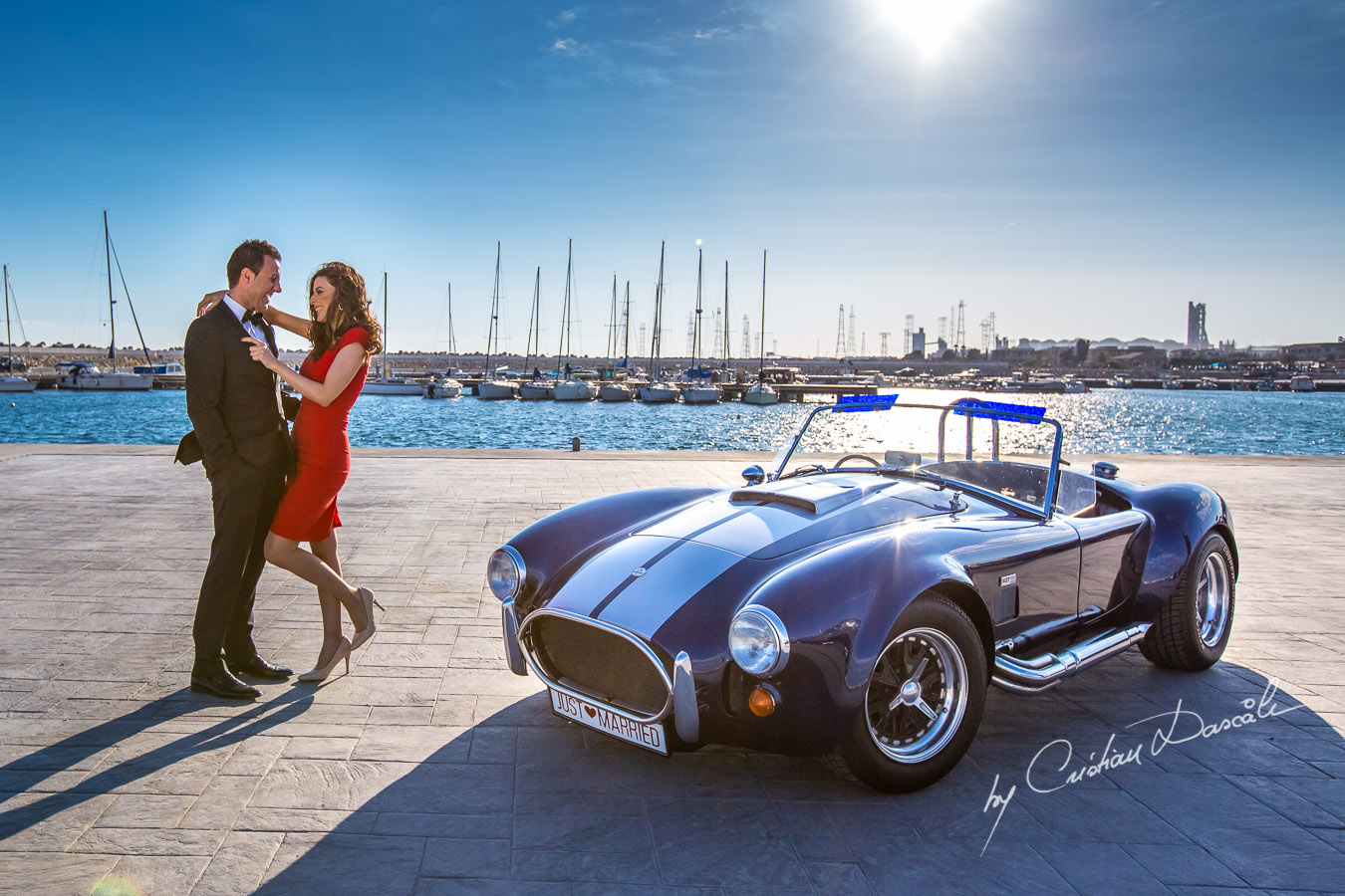 Pre Wedding Photos - Andrew, Georgia & The Cobra. Cyprus Photographer: Cristian Dascalu