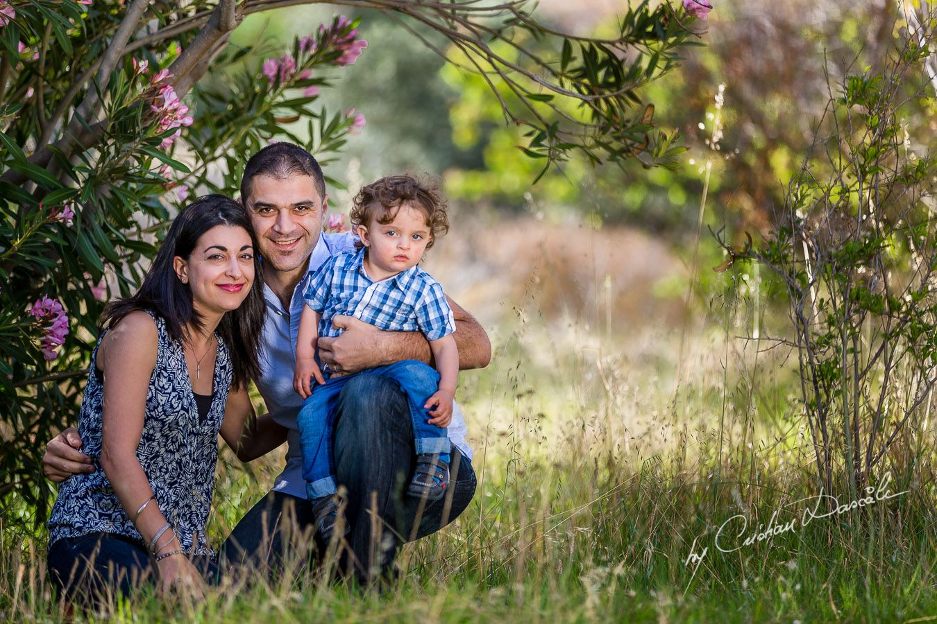 Maria, George & Harry - Family photo shoot near Curium Beach, Cyprus: Photographer: Cristian Dascalu