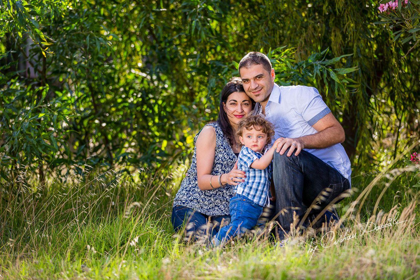 Maria, George & Harry - Family photo shoot near Curium Beach, Cyprus. Photographer: Cristian Dascalu
