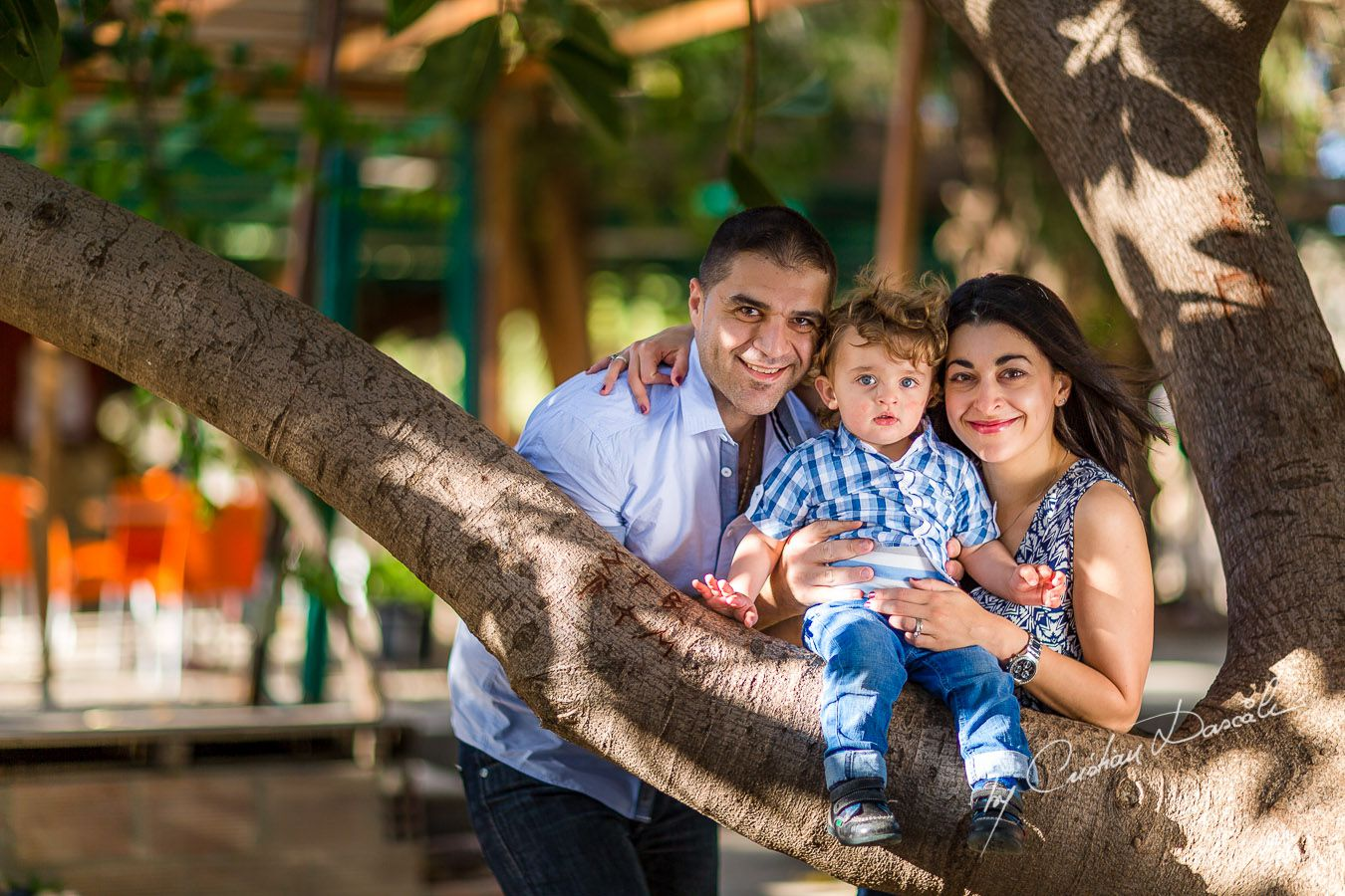 Maria, George & Harry - Family photo shoot near Curium Beach, Cyprus. Photographer: Cristian Dascalu