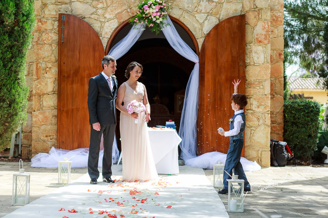 Le Meridien Wedding Limassol - George and Nicole - 25
