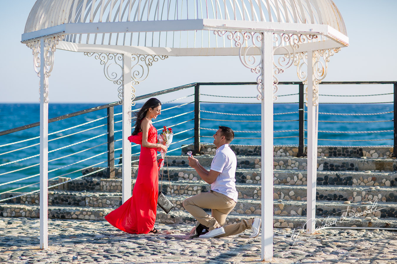 Beach Proposal Photo Session - 11