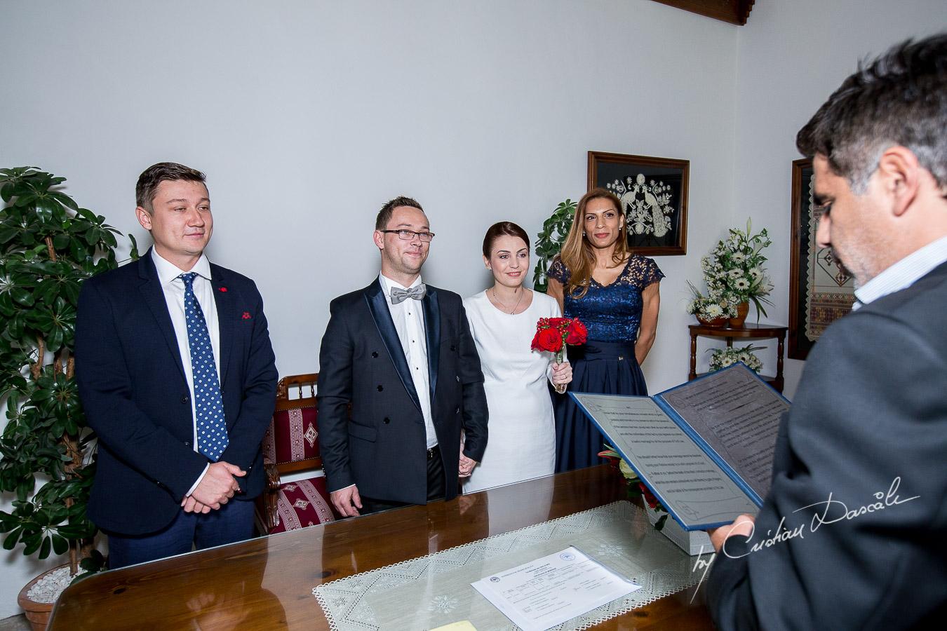 Simple Marriage Ceremony - Irina & Dragos 03