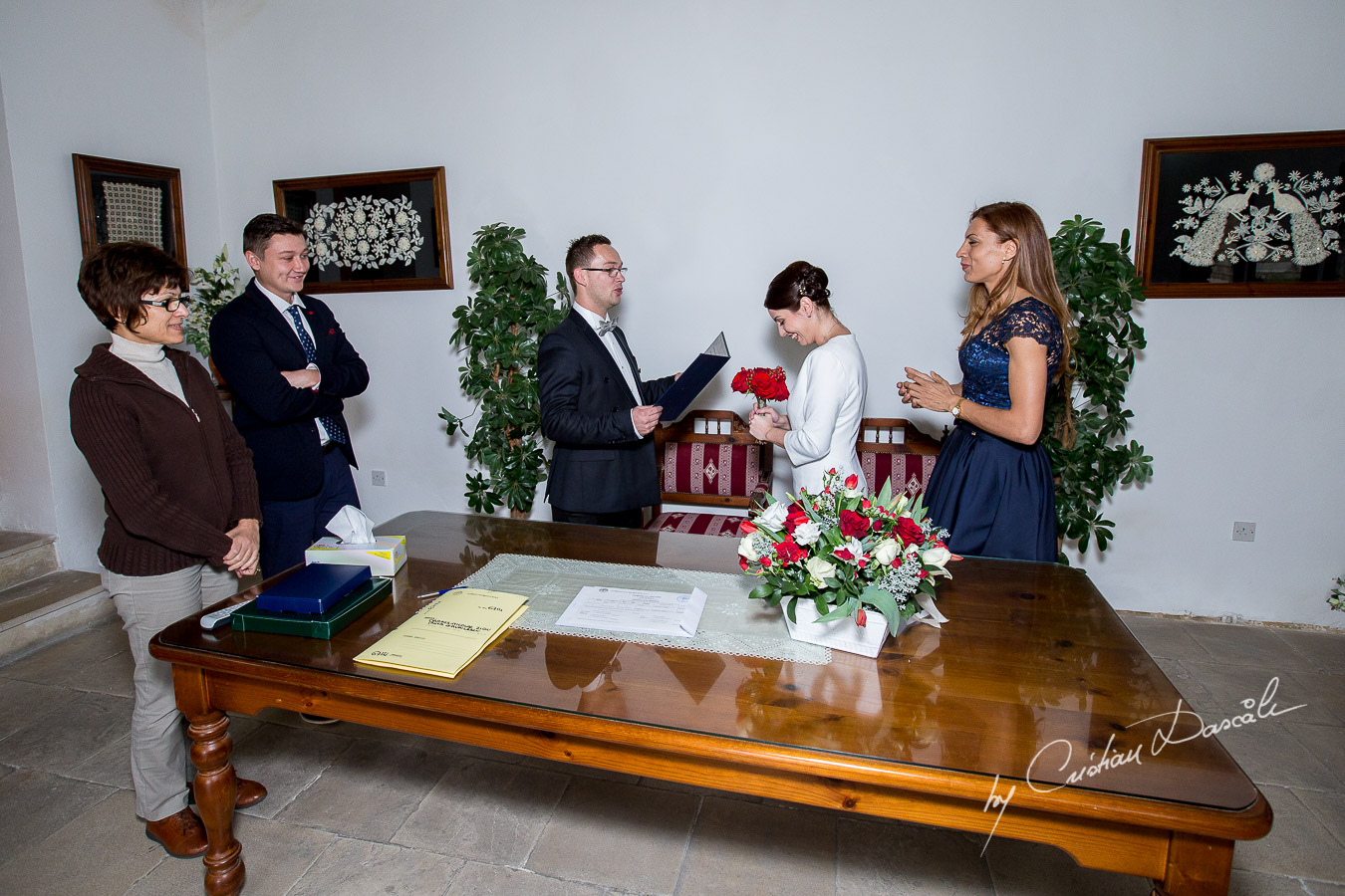 Simple Marriage Ceremony - Irina & Dragos 04