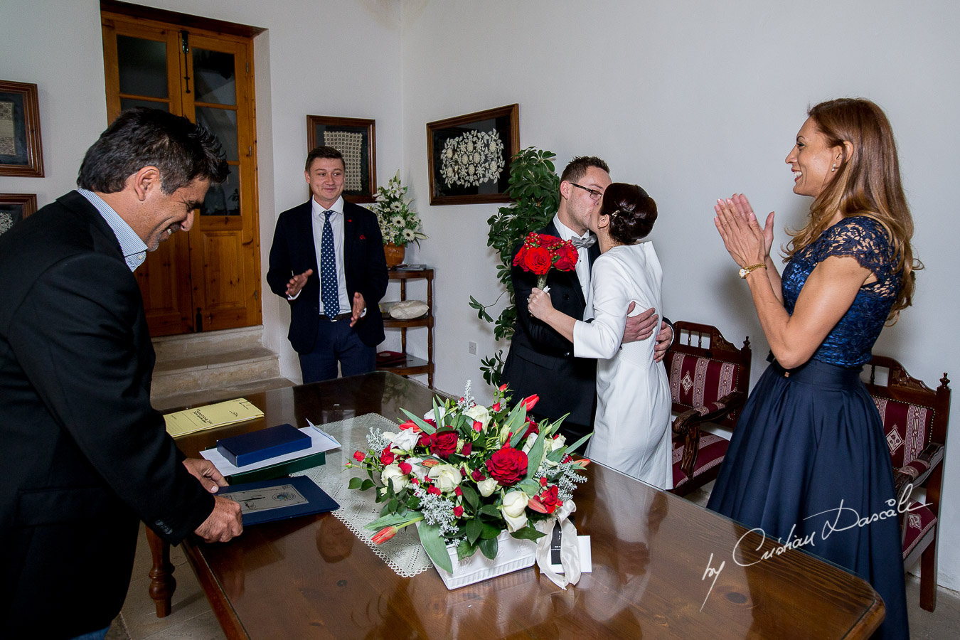 Simple Marriage Ceremony - Irina & Dragos 05