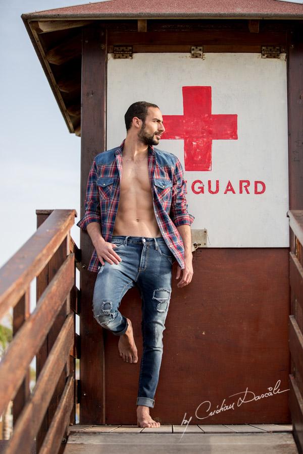 Model Photo-shoot at Saint Raphael Beach - 01