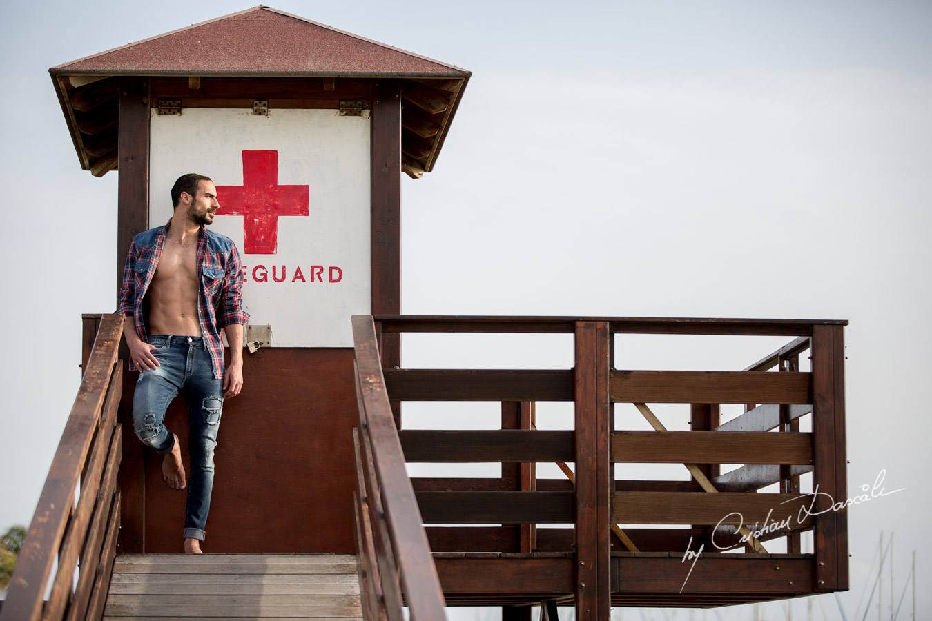 Model Photo-shoot at Saint Raphael Beach - 02