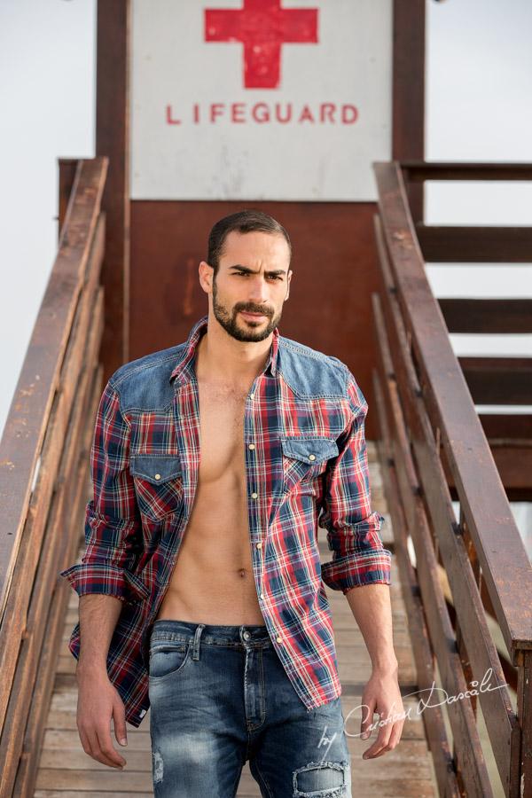 Model Photo-shoot at Saint Raphael Beach - 03