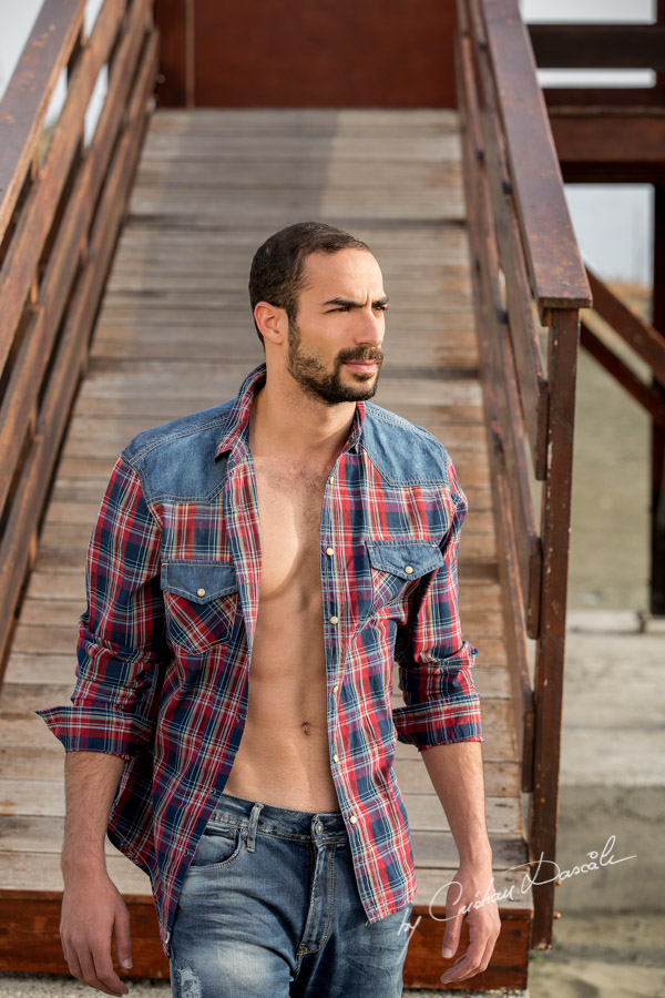 Model Photo-shoot at Saint Raphael Beach - 04
