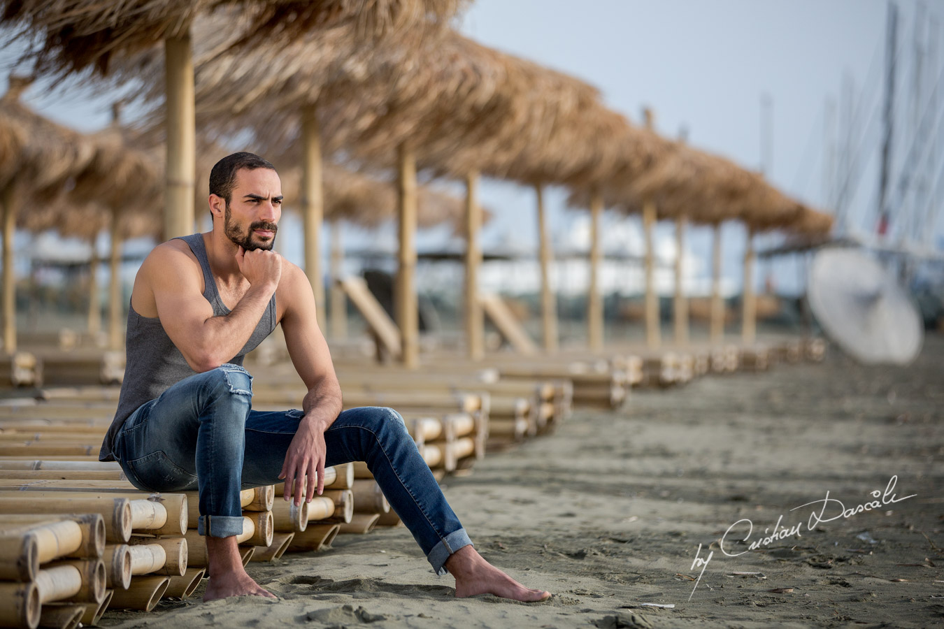 Model Photo-shoot at Saint Raphael Beach - 05